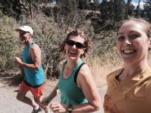 Karla Snyder: Running Eugene Half Marathon