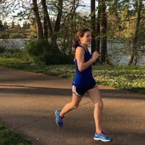 Tia Renier: Running Eugene Half Marathon