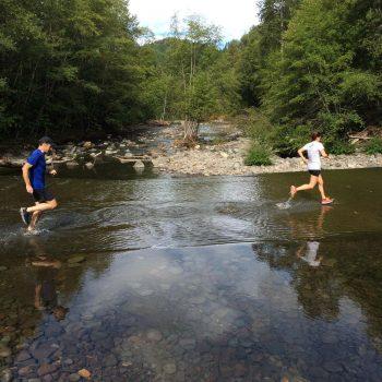 Oakridge trail run