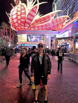 Dustin on Vegas Strip